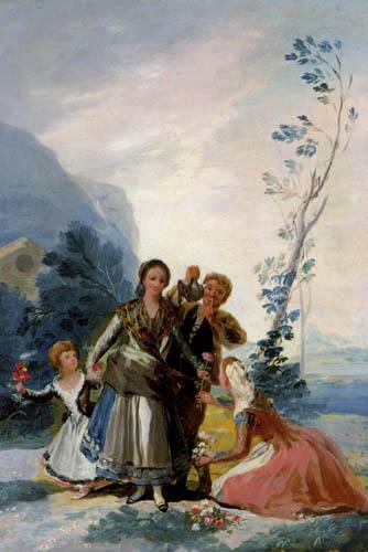 Francisco J. Goya y Lucientes - La Primavera