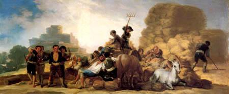 Francisco J. Goya y Lucientes - El Verano