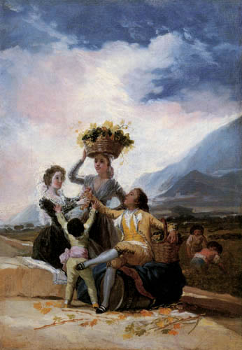 Francisco J. Goya y Lucientes - Der Herbst