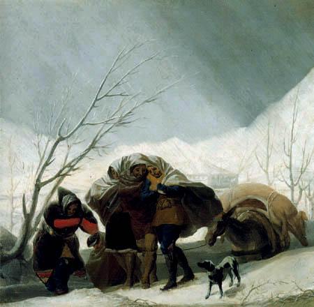 Francisco J. Goya y Lucientes - Der Winter