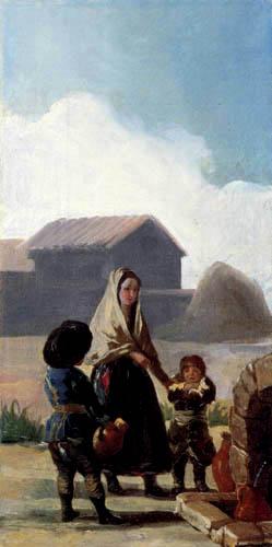 Francisco J. Goya y Lucientes - On the spring