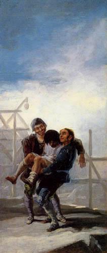 Francisco J. Goya y Lucientes - The Drunkard