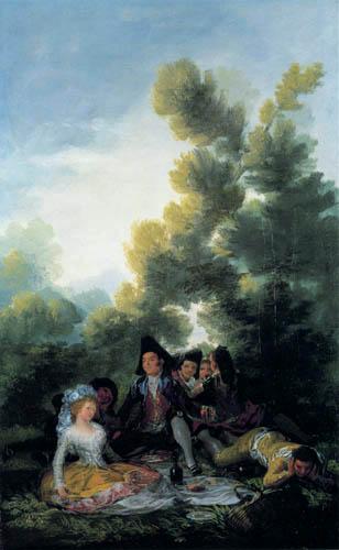 Francisco J. Goya y Lucientes - The Picnic