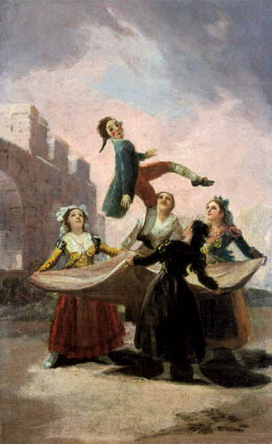 Francisco J. Goya y Lucientes - Jumping jack