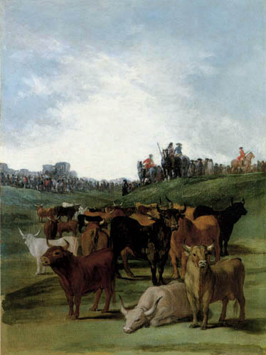 Francisco J. Goya y Lucientes - Selection of bulls