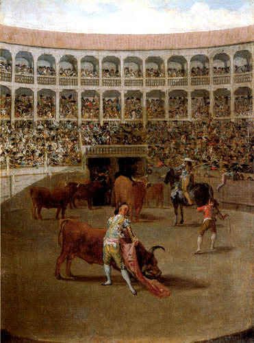 Francisco J. Goya y Lucientes - The Bullfight
