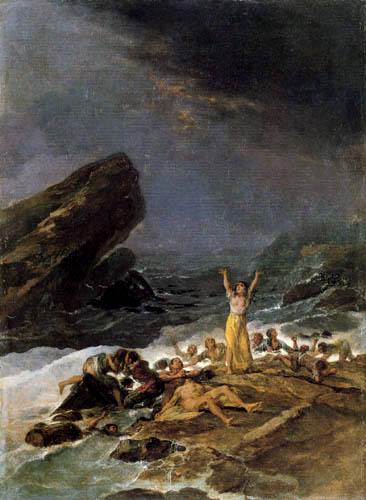 Francisco J. Goya y Lucientes - The shipwreck