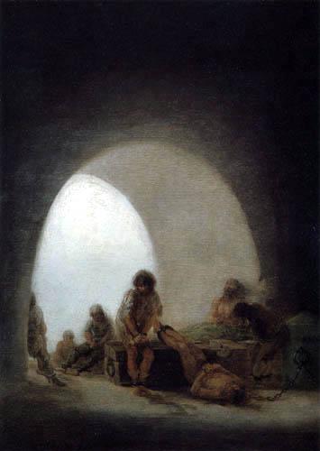 Francisco J. Goya y Lucientes - Im Gefängnis