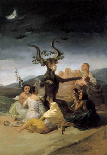Francisco J. Goya y Lucientes - The Witches´Sabbath