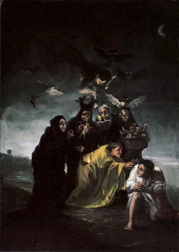 Francisco J. Goya y Lucientes - Charm spell