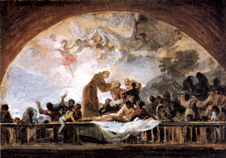 Francisco J. Goya y Lucientes - The Miracle of Anthony of Padua