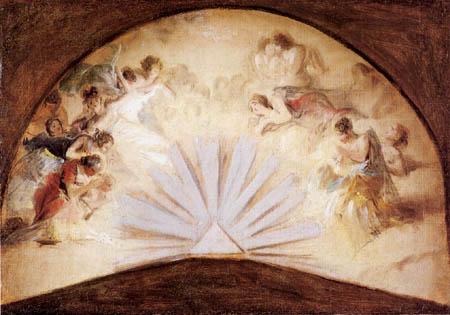 Francisco J. Goya y Lucientes - Adoración