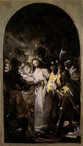 Francisco J. Goya y Lucientes - Capture of Christ
