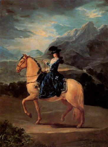 Francisco J. Goya y Lucientes - Maria Teresa de Vallabriga