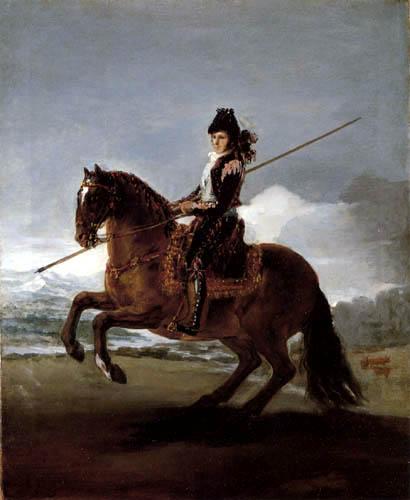 Francisco J. Goya y Lucientes - Reiterporträt