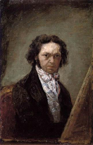 Francisco J. Goya y Lucientes - Selfportrait