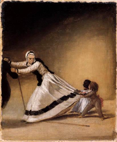 Francisco J. Goya y Lucientes - 'La Beata'mit Luis de Berganza und Maria de la Luz
