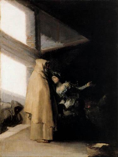 Francisco J. Goya y Lucientes - The Visit