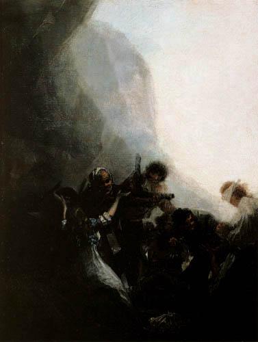 Francisco J. Goya y Lucientes - The holdup