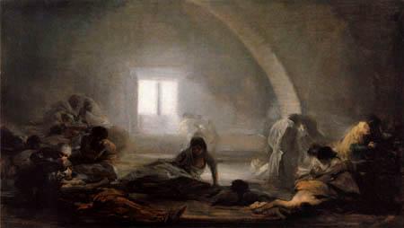 Francisco J. Goya y Lucientes - La peste