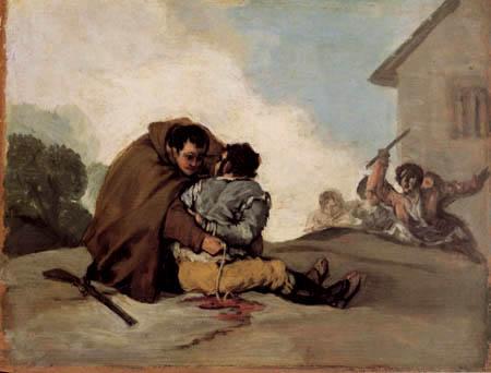 Francisco J. Goya y Lucientes - Friar Pedro