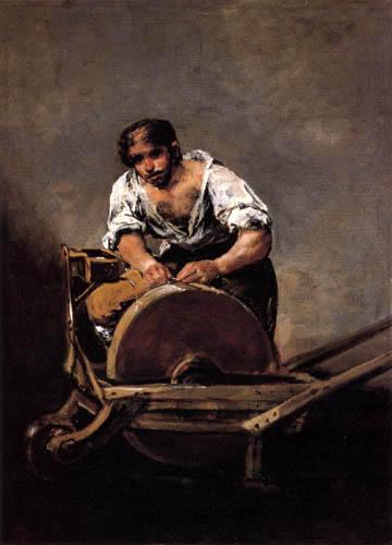 Francisco J. Goya y Lucientes - Knife Grinder