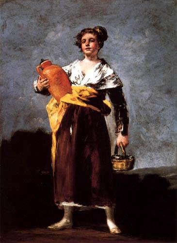 Francisco J. Goya y Lucientes - La portadora de las aguas