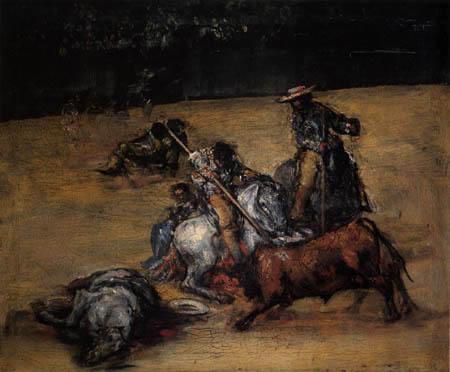 Francisco J. Goya y Lucientes - Corrida de Toros