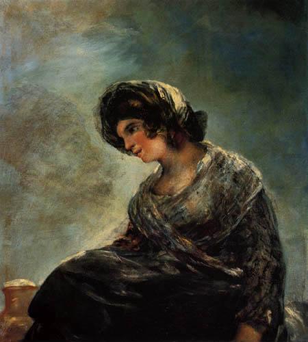 Francisco J. Goya y Lucientes - La lechera de Burdeos