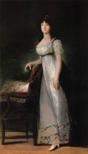Francisco J. Goya y Lucientes - Retrato de Marquesa de Lazán