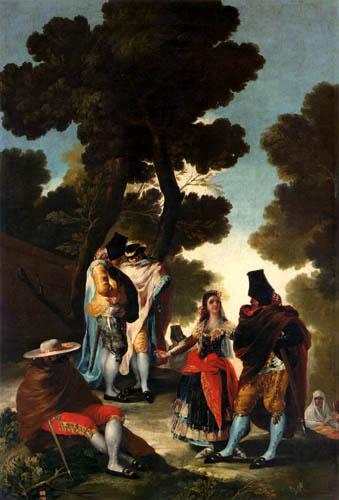 Francisco J. Goya y Lucientes - El paseo de Andalucia