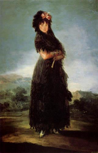 Francisco J. Goya y Lucientes - Marquise de Santa Cruz