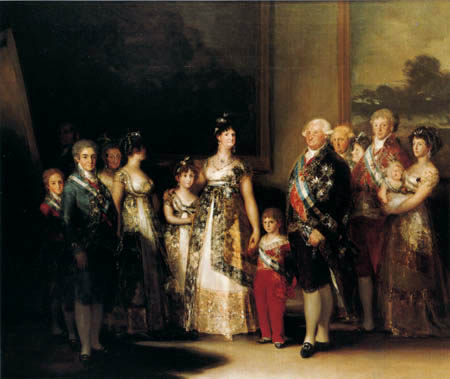 Francisco J. Goya y Lucientes - The Family of the Carl IV.