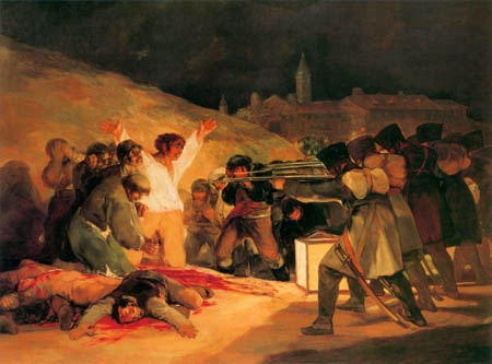 Francisco J. Goya y Lucientes - The Third of May 1808