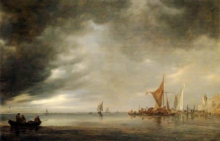 Jan van Goyen - An approaching tempest