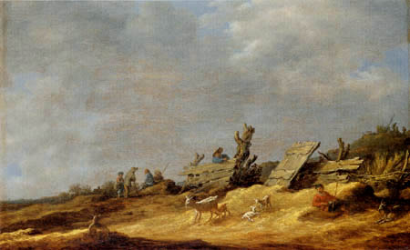 Jan van Goyen - Dune landscape