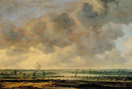 Jan van Goyen - The sea near Haarlem