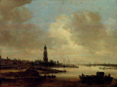 Jan van Goyen - View of Rhenen