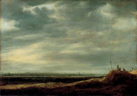 Jan van Goyen - Auf der Düne
