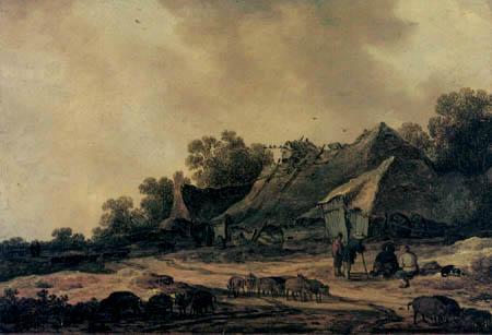 Jan van Goyen - Persons and Animals