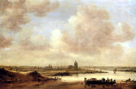 Jan van Goyen - Blick auf Arnheim