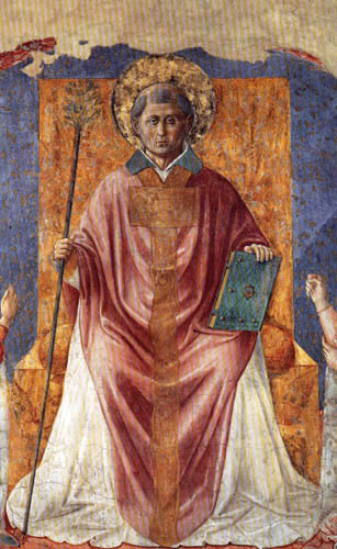 Benozzo Gozzoli - Saint Fortunatus
