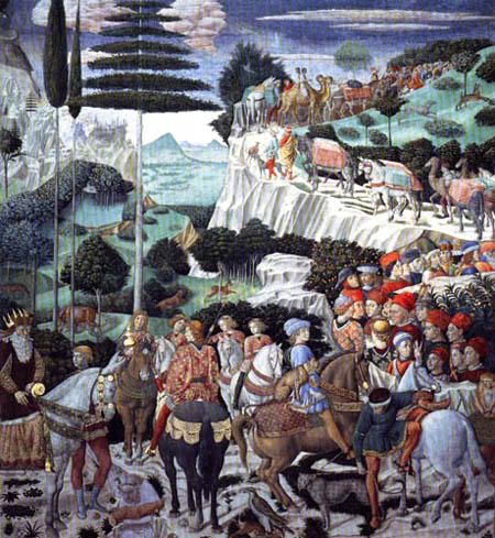 Benozzo Gozzoli - Der Zug des Königs Caspar