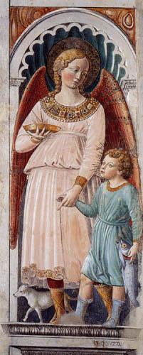 Benozzo Gozzoli - The Archangel Raphael with Tobias