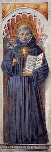 Benozzo Gozzoli - Saint Nicholas