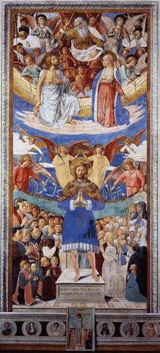 Benozzo Gozzoli - St. Sebastian