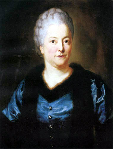 Anton Graff - Portrait of Eva Charlotte Friederike
