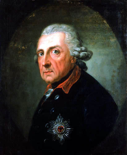 Anton Graff - Frederic II of Prussia