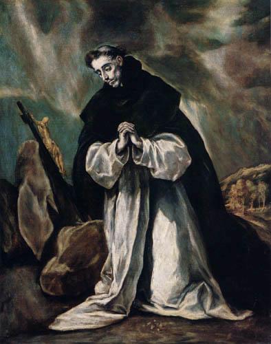 Greco El (Doménikos Theotokópoulos) - Saint Dominik