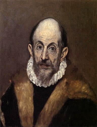El Greco (Doménikos Theotokópoulos) - Selbstbildnis